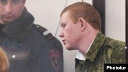 Վալերի Պերմյակովը դատարանի դահլիճում, արխիվ