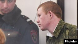 Valery Permyakov appears in court in January.