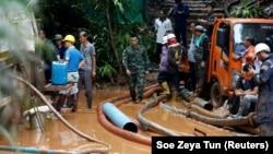 Загиблий дайвер брав участь в операції порятунку дітей, які заблукали в печері