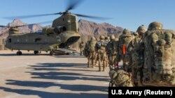 آرشیف، شماری از نیروهای امریکایی در افغانستان