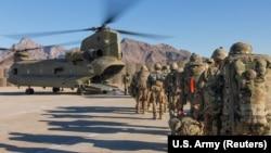 آرشیف، نیروهای امریکایی در افغانستان
