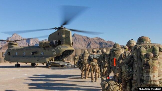 په افغانستان کې امریکایي ځواکونه