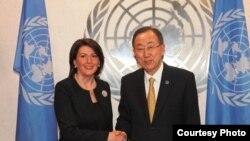 Atifete Jahjaga dhe Ban Ki-moon