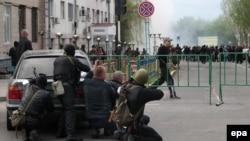 Lugansk, 29. april 2014.