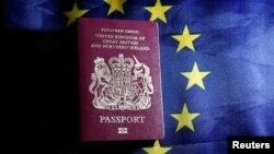 Паспорти нового зразка не мають слів «Європейський союз» на обкладинці