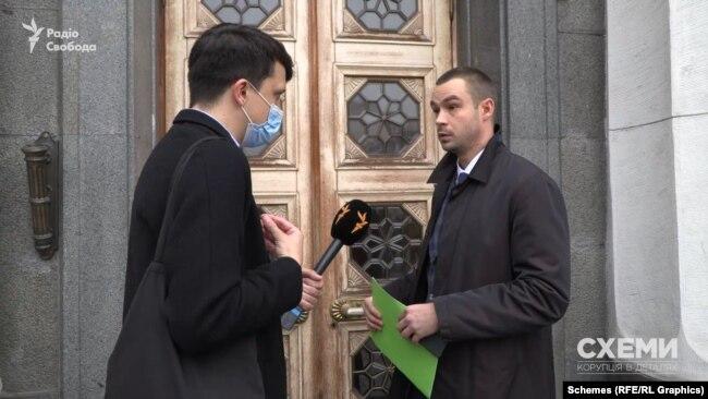 Відтак журналісти звернулися за коментарем до самого Якименка