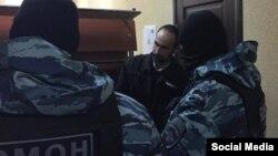 Марлен Мустафаєв у суді, фото з соцмереж, 21 лютого 2017 року