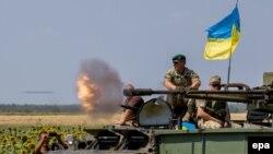 Військові навчання недалеко від Маріуполя. 9 серпня 2016 року