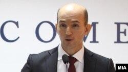 Димитар Богов, гувернер на Народна банка на Република Македонија.