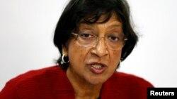 Верховный комиссар ООН по правам человека Нави Пиллэй.