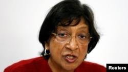Шефицата за човекови права на ОН Нави Пилај