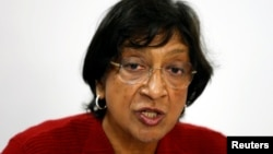 Komisionerja e Lartë e OKB-së për të Drejtat e Njeriut, Navi Pillay (ARKIV)