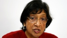 The current UN high commissioner for human rights, Navi Pillay, is stepping down in September.