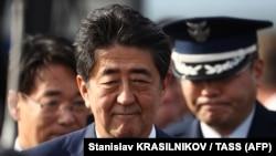 Жапон өкмөт башчысы Синдзо Абэ.