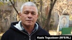 Ахмет Юсупов, отец осужденного Руслана Юсупова. Алматы, 4 ноября 2013 года.