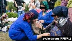 Российские беженцы из Чечни в Беларуси