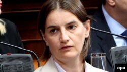 Public administration expert Ana Brnabic, 40, is set to be sworn in this week as the first openly gay minister in any Balkan country.