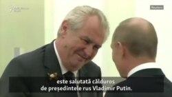 Președintele ceh Milos Zeman ar putea fi reales, după un mandat ce a polarizat societatea cehă