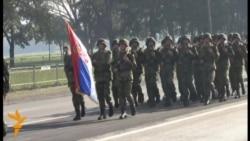 Priprema vojne parade u Beogradu