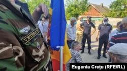 Varnița - Anenii Noi - veteranii monitorizează transporturile care vin din regiunea transnistreană, 11 iulie 2021