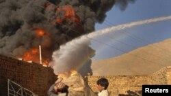 La locul atentatelor talibane de lîngă Quetta