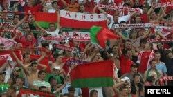 Фанаты зборнай Беларусі