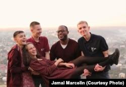 Джамал со своими украинскими друзьями