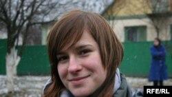 Youth activist Tatsiyana Tsishkevich