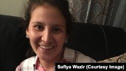 Safiya Wazir 11. novembra 2018, nakon pobjede na unutarstranačkim izborima