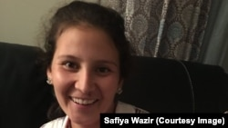 Safiya Wazir hopes to make history in November.