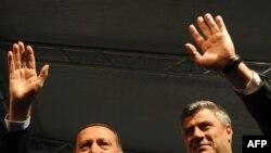 Gjatë vizitës në Prizren...
