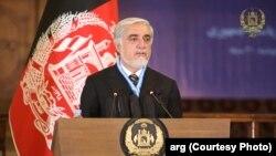 داکتر عبدالله عبدالله، رئیس شورای عالی مصالحه ملی افغانستان
