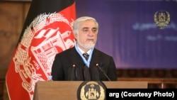 عبداللهعبدالله رئیس شورای عالی مصالحه ملی افغانستان