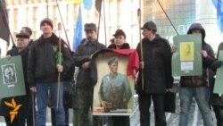 Вшанування Шухевича у річницю його смерті