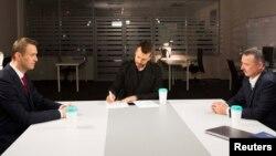 Дебаты Навального и Гиркина на Дожде