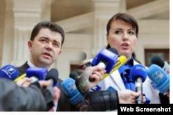 Victor Osipov și Nina Ștanski