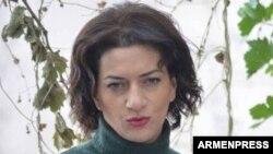 Нагорный Карабах - супруга премьер-министра Армении Никола Пашиняна Анна Акопян, 7 октября 2018 г.