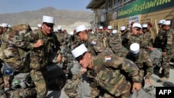 French soldiers at Kabul International Airport late last year.