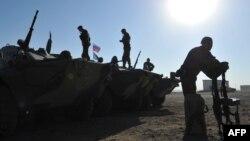 آرشیف، تمرینات نظامی سربازان روسی