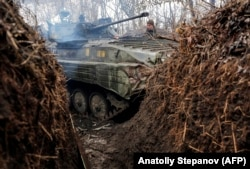"""Fighting between Ukrainian government forces and Russia-backed militants has raged on despite a nationwide lockdown to slow the spread of the coronavirus and Western calls for a """"global cease-fire"""" during the pandemic."""