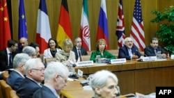 """Иран мен """"алтылық елдері"""" өкілдерінің келіссөздері. Вена, 8 сәуір 2014 жыл."""