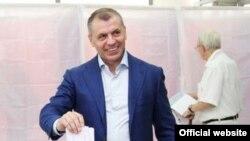 «Cпикер парламента» аннексированного Крыма Владимир Константинов. 14 сентября 2014 года года.