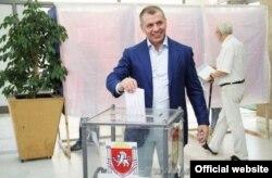 Спікер кримського «парламенту» Володимир Константинов