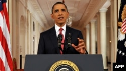 U.S. President Barack Obama speaks in a rare prime-time address to the nation, warning that any failure to increase the country's borrowing limit could have dire ramifications.