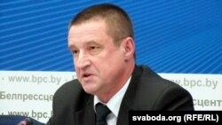 Міністар сельскай гаспадаркі іхарчаваньня Беларусі Леанід Заяц
