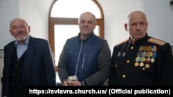 Пасха в храме г. Святогорска, 19 апреля 2020 года