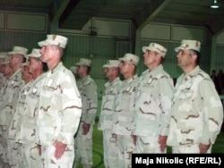 Oružane snage BiH nakon povratka iz misije u Afganistanu, april 2011.