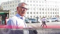 Azərbaycanda hansı müxalifət liderini tanıyırsınız?