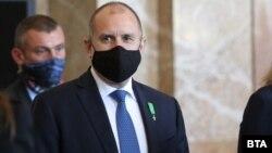 Румен Радев, претседател на Бугарија