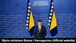 Predsjedavajući Vijeća ministara BiH Zoran Tegeltija